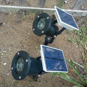 Solar proiector de Crăciun Lumina
