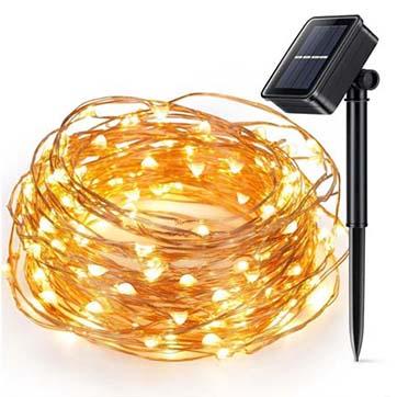 energia solară fir de cupru sârmă lumina